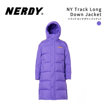 NERDY ノルディNY Track Long Down Jacket